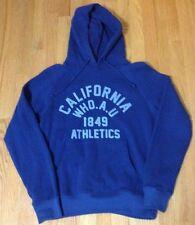 WHO.A.U Blue Hoodie Sweater Jacket Sweater M Hollister Abercrombie Tech Fleece