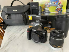 Nikon D3400 24.2 MP Digital SLR Camera - FREE SHIPPING