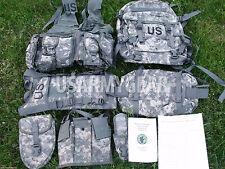 New MOLLE II ACU Rifleman Army Set Assault Pack FLC Hydration System Waist Pack