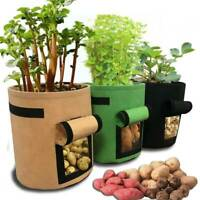 Vegetable Planting Bags DIY Grow Bag Potato Cultivation Garden Pot Planters New