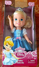 "13"" Disney ""Cinderella"" Princess Toddler Doll - My First Disney Princess - New"