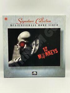 SIGNATURE COLLECTION DIRECTORS DELUXE 12 MONKEYS LASERDISC BOX SET 1997 NTSC