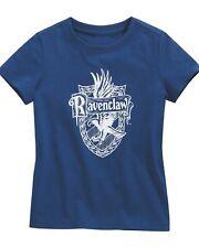 Harry Potter Ravenclaw Crest Boys Blue T-Shirt Official Merchandise New Top