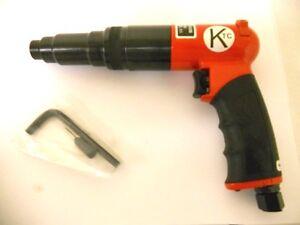 """Screwdriver Adjustable Clutch Pneumatic 10-110"""" lb New"""