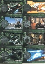 Star Trek Nemesis Technology Insert Card Set T1 - T8
