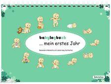 babylogbuch - mein erstes Jahr - farbmix - Babytagebuch Babykalender Geschenk