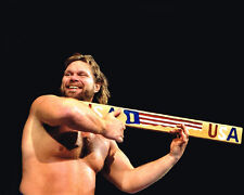 Pro Wrestler Hacksaw Jim Duggan Glossy 8x10 Photo Wrestling Wwf Print Poster