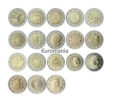 Grèce 2 Euro - Toutes Commémoratives Monnaies 2004 à 2019 Disponibles