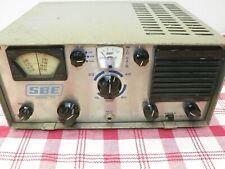 Vintage SBE Model 33 HF Transceiver w/Copy of Manual *PARTS or REPAIR*