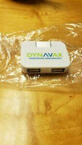 Mini Travel Portable USB 2.0 Hi-Speed 4-Port Adapter Splitter Hub PC Notebook