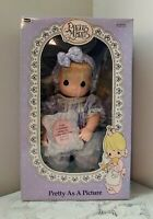 Precious Moments Baby Doll 1992 Pretty As A Picture Soft Body Doll In Orig. Box