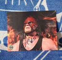 Kane Autographed 8x10 Pro Wrestling Crate Exclusive WWE WWF Undertaker WCW ECW