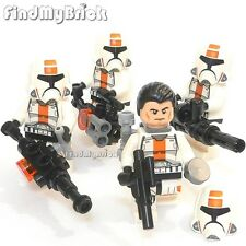 SW650x4 II Lego Star Wars The Old Republic Trooper Minifigs & Blasters 75001 NEW