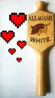 🔥🍺 Allagash White, Beer Tap Handle Keg, Collectible draft beer FAST SHIP L👀K