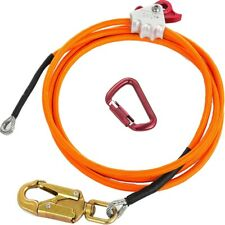 Steel Wire Core Flip Line Kit Adjustable Climbing Positioning Rope For Arbo Y9c9