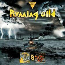 RUNNING WILD - THE RIVALRY + VICTORY / 2 VINYL LP / NEU & OVP