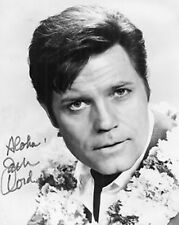 Hawaii Five-O Jack Lord BW Auto copia 10x8 Foto
