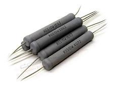 2x RESISTENZA MOX 3,30 Ω OHM 10 watt  5% audio Crossover metal oxide resistor