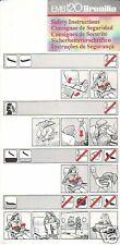 Safety Card - Generic - EMB 120 Brasilia (S2131)