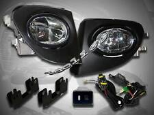 02-05 Civic SI EP3 Hatchback Clear Fog Lights Lamps Kit (Lamp + Wiring + Switch)