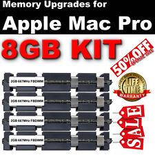 8 Go (4x 2 Go) DDR2 667 mhz ram mémoire FB Kit Pour Apple Mac Pro Dual Core £ 169.95