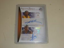 2007-08 UD SP Authentic Sign of the Times Auto Barbosa Kobe Bryant 01/10