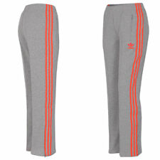 adidas Damen Originals Firebird Track Pant Hose Trainingshose Jogginghose grau