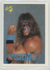 1989 Classic WWF Ultimate Warrior The #127 Rookie HOF