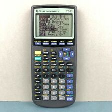 Texas Instruments TI-83 Graphing Scientific Programmable Calculator with Cover