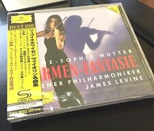 ANNE SOPHIE MUTTER, CARMEN-FANTASIE,  JAMES LEVINE SHM CD, JAPAN