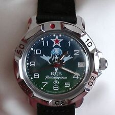 Wrist Mechanical Watch VOSTOK KOMANDIRSKIE Airborne VDV Commander 811818