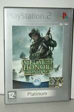 MEDAL OF HONOR FRONTLINE USATO BUONO SONY PS2 ED ITA PAL PLATINUM VBC 39373