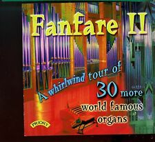 Fanfare 2 / A Whirlwind Tour Of 30 More World Famous Organs - MINT