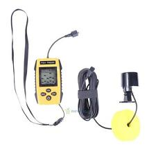 Portable LCD Display Screen Underwater Sonar Fish Finder Detector Cam Transducer
