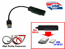 Convertisseur SATA 15+7  vers USB 3.0 SUPERSPEED (USB3 Superspeed 5GB)