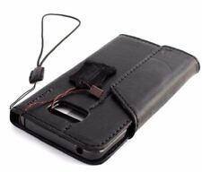 Genuine leather case for samsung galaxy note 5 book wallet closure cover luxury