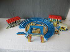 Konvolut Playmobil Zirkus 3510 blaue Manege mit weiterem Zubehör