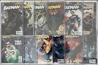 BATMAN#608-619 VF/NM LOT 2002 'HUSH' FULL RUN DC COMICS Signed By Jim Lee