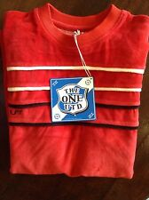 RED ' The One United' mens T-shirt in X Large