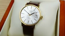Rotary Automatic - Gold Plated Swiss Made Wristwatch - Boxed - ETA 2824