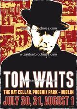 TOM WAITS THE RAT CELLAR PHOENIX PARK DUBLIN A3 CONCERT BILL POSTER PRINT