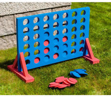 Giant 4 in a Row Connect Garden Outdoor Game Kids Adults Family Party Fun