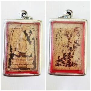 Phra Somdej Pendant LP Toh Thai Amulet Powerful Magic Holy Buddha Old Real Rare