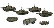 Schuco 452643300 Panzerzug 1981 Bw Mimetico 7 Pezzi 1:87 Metallo