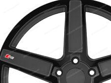 5 X Pegatinas para ruedas AUDI RS A1 A3 A4 A5 A6 S3 TT Q2 Q3 Q5 S4 RS #51