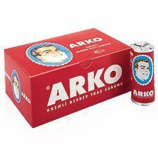Arko Shaving Cream Soap Stick - 12 Pieces Mens Barber Shaving Styling Face Soap