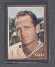 1962 Topps #129 Lee Walls (Dodgers) (Plain)  NM (Flat Rate Ship)