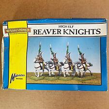 Warhammer Fantasy Battle High Elf Reaver Knights Boxed Games Workshop Marauder