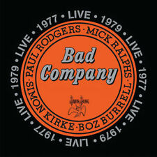 BAD COMPANY CD - LIVE IN CONCERT 1977 & 1979 [2 DISCS](2016) - NEW UNOPENED