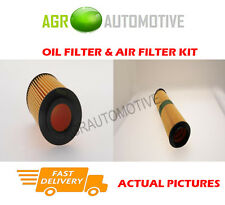 DIESEL SERVICE KIT OIL AIR FILTER FOR MERCEDES-BENZ E270 2.7 177 BHP 2002-05